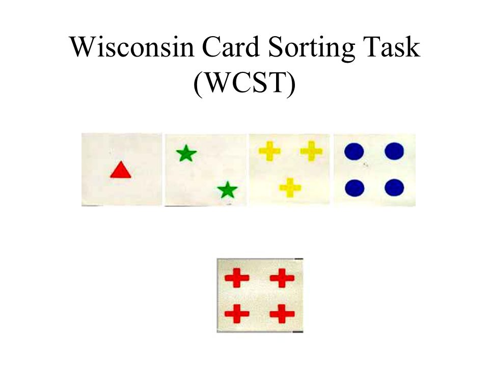 Wisconsin Card Sorting Task (WCST)