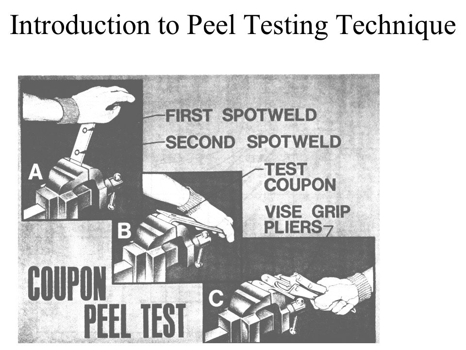 Introduction to Peel Testing Technique