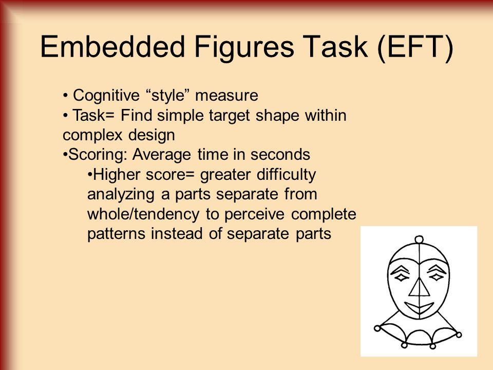Embedded Figures Task (EFT)