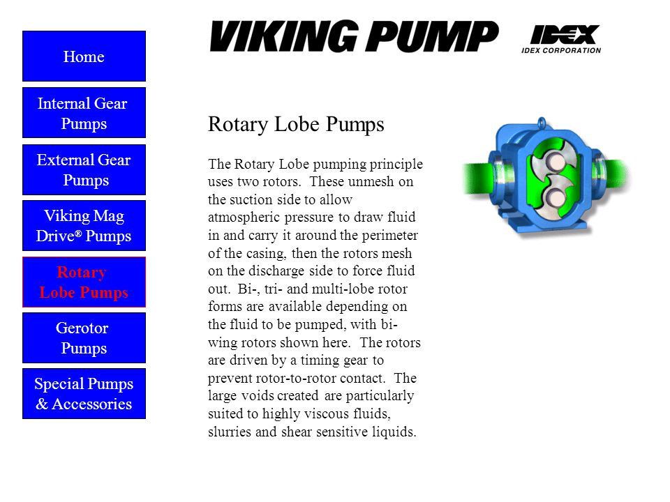 Rotary Lobe Pumps Home Internal Gear Pumps External Gear Pumps
