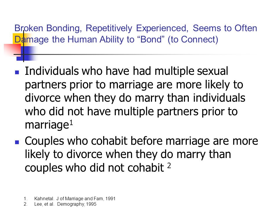 Broken Bonding, Repetitively Experienced, Seems to Often Damage the Human Ability to Bond (to Connect)