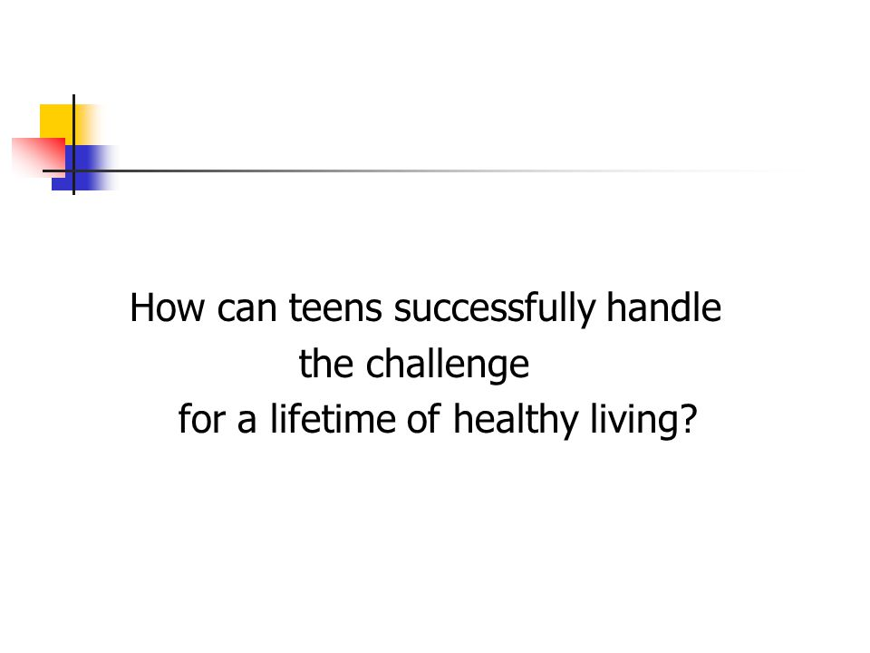 How can teens successfully handle