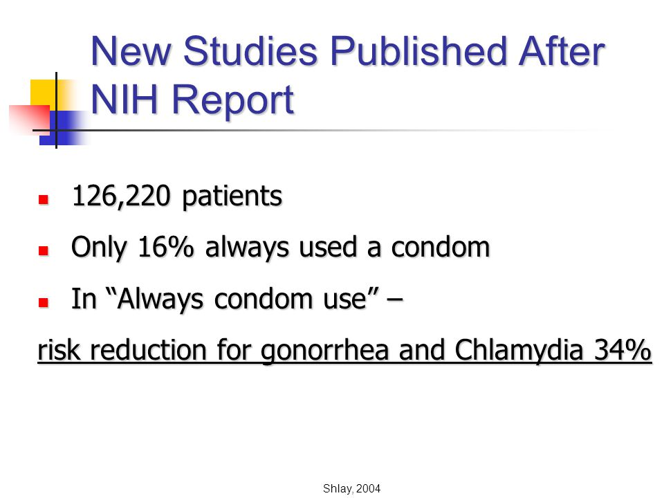 New Studies Published After NIH Report