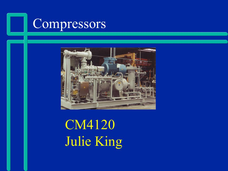 Compressors CM4120 Julie King