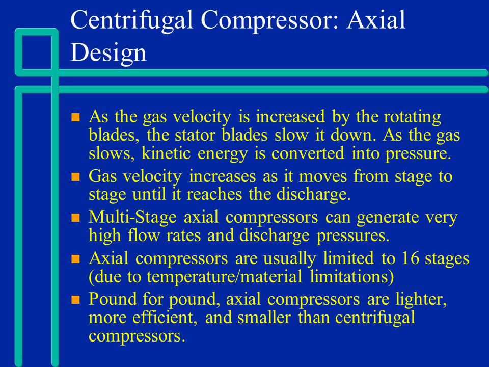 Centrifugal Compressor: Axial Design