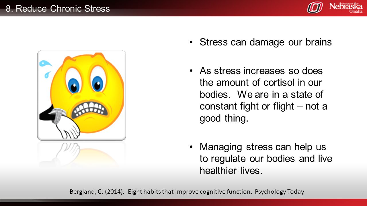 Stress can damage our brains