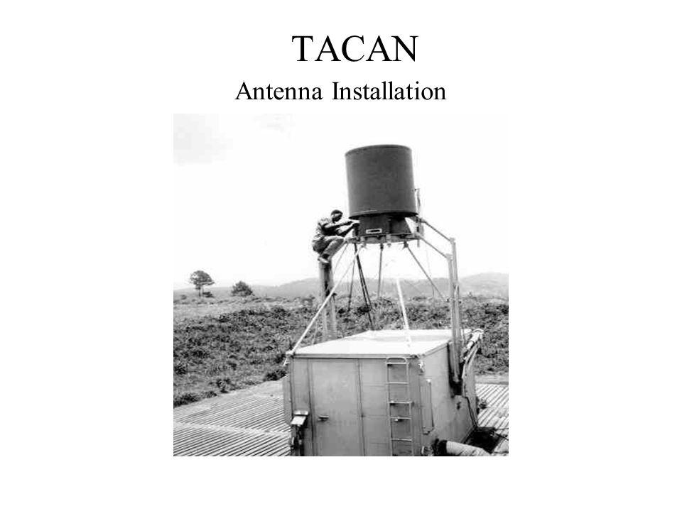 TACAN Antenna Installation