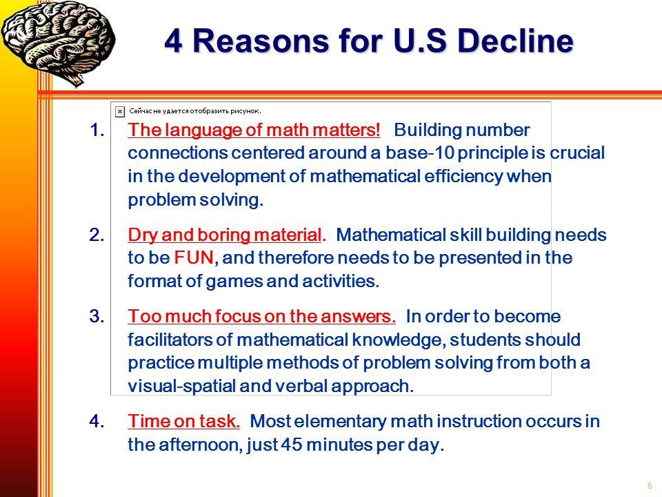 4 Reasons for U.S Decline
