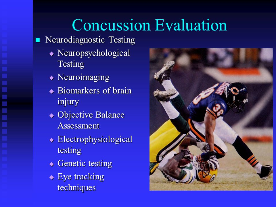Concussion Evaluation