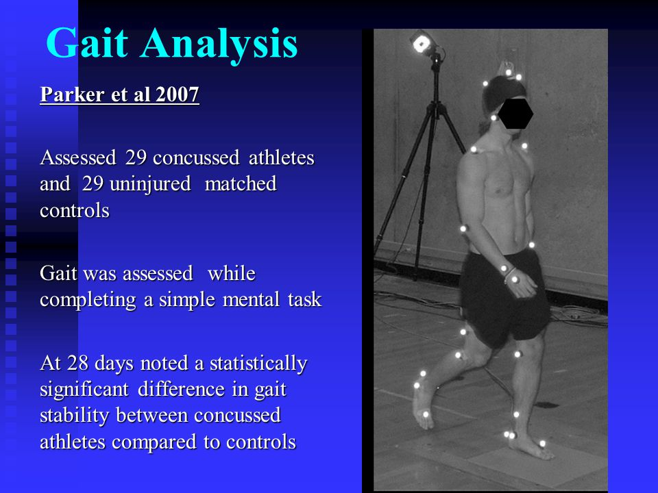 Gait Analysis Parker et al 2007