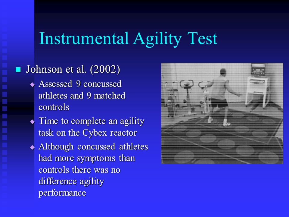 Instrumental Agility Test