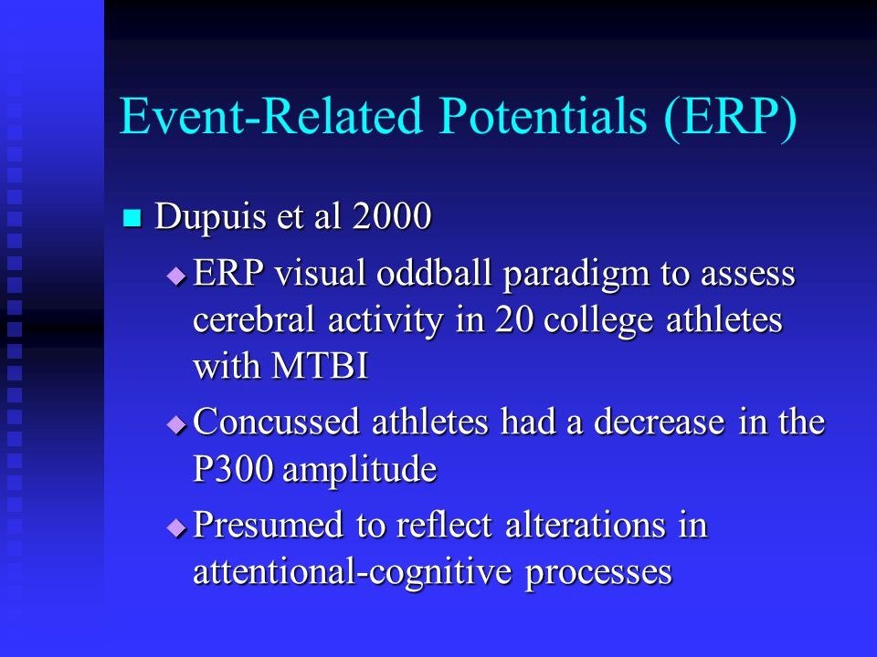 Event-Related Potentials (ERP)