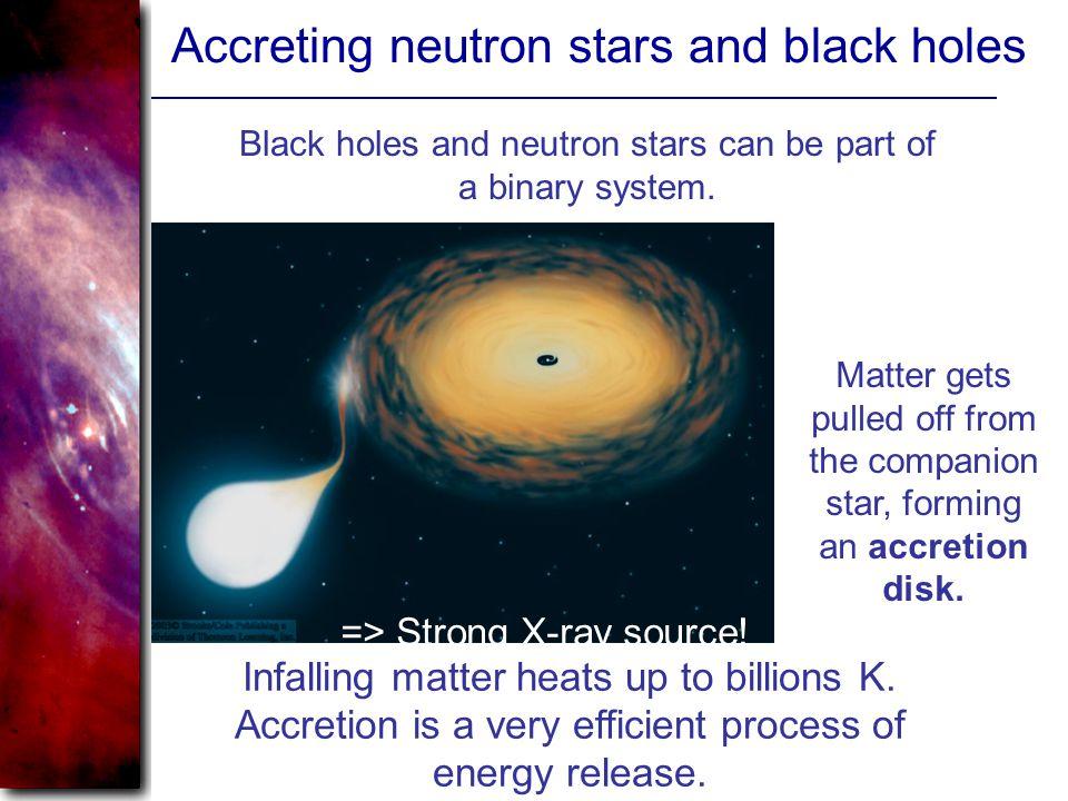 Accreting neutron stars and black holes