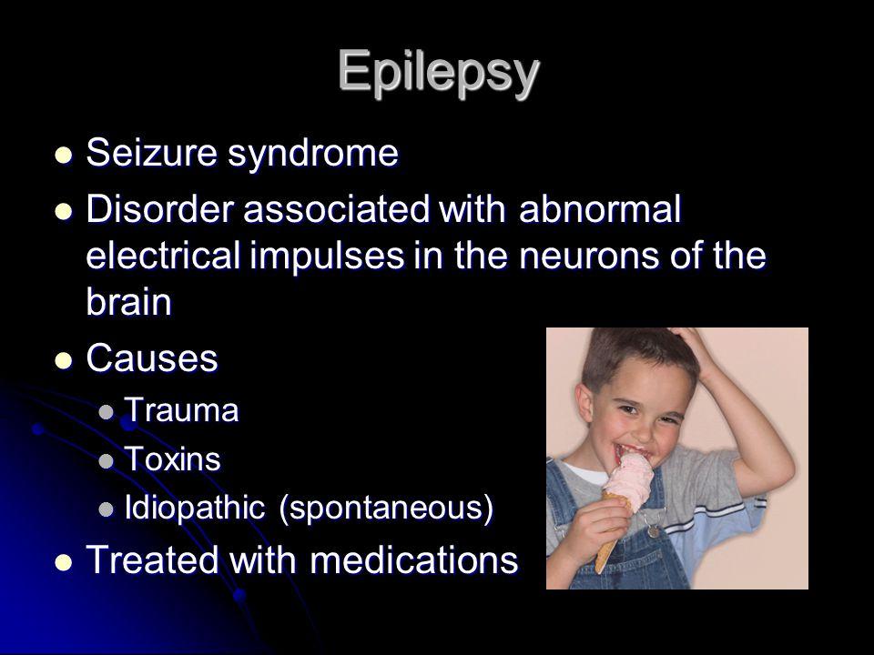 Epilepsy Seizure syndrome