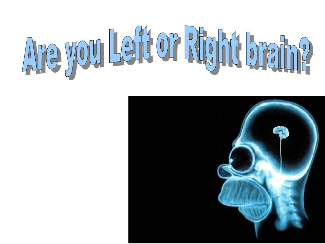 Are you Left or Right brain