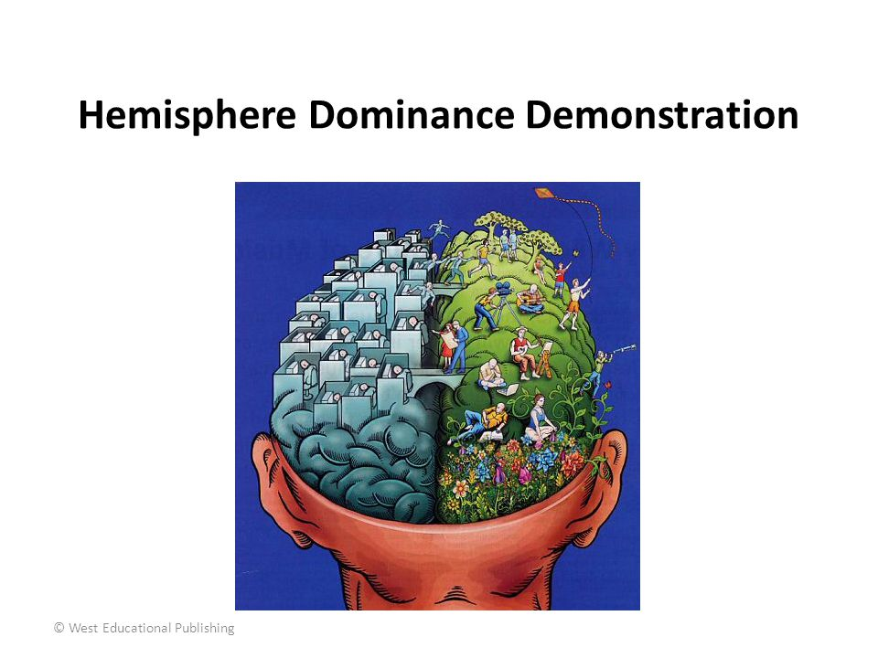 Hemisphere Dominance Demonstration