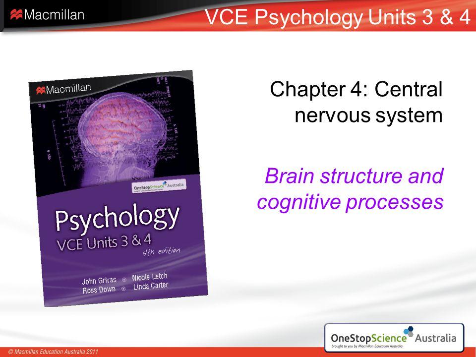 VCE Psychology Units 3 & 4 Chapter 4: Central nervous system.