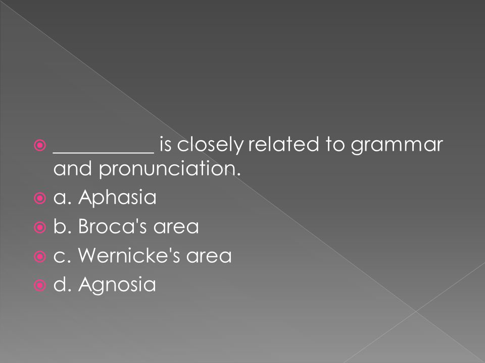 __________ is closely related to grammar and pronunciation.