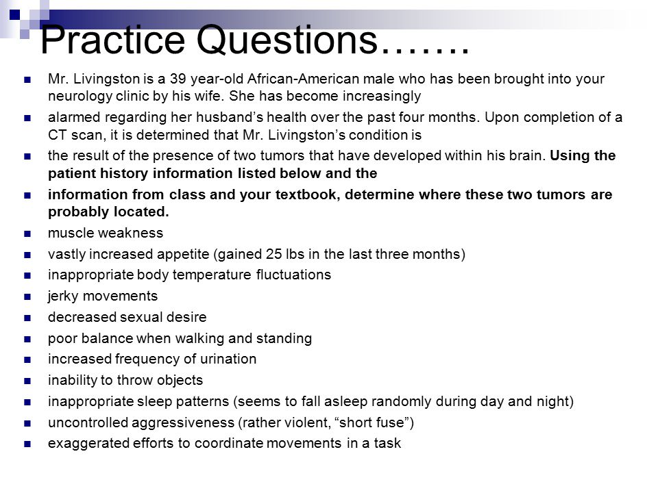 Practice Questions…….