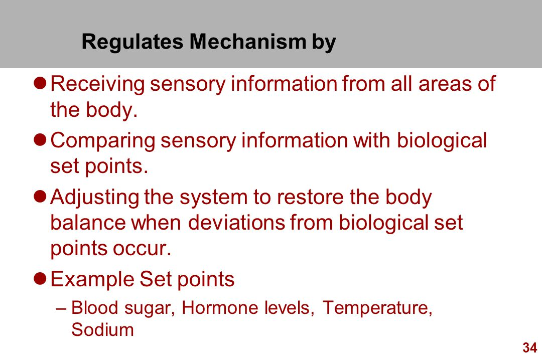 Regulates Mechanism by