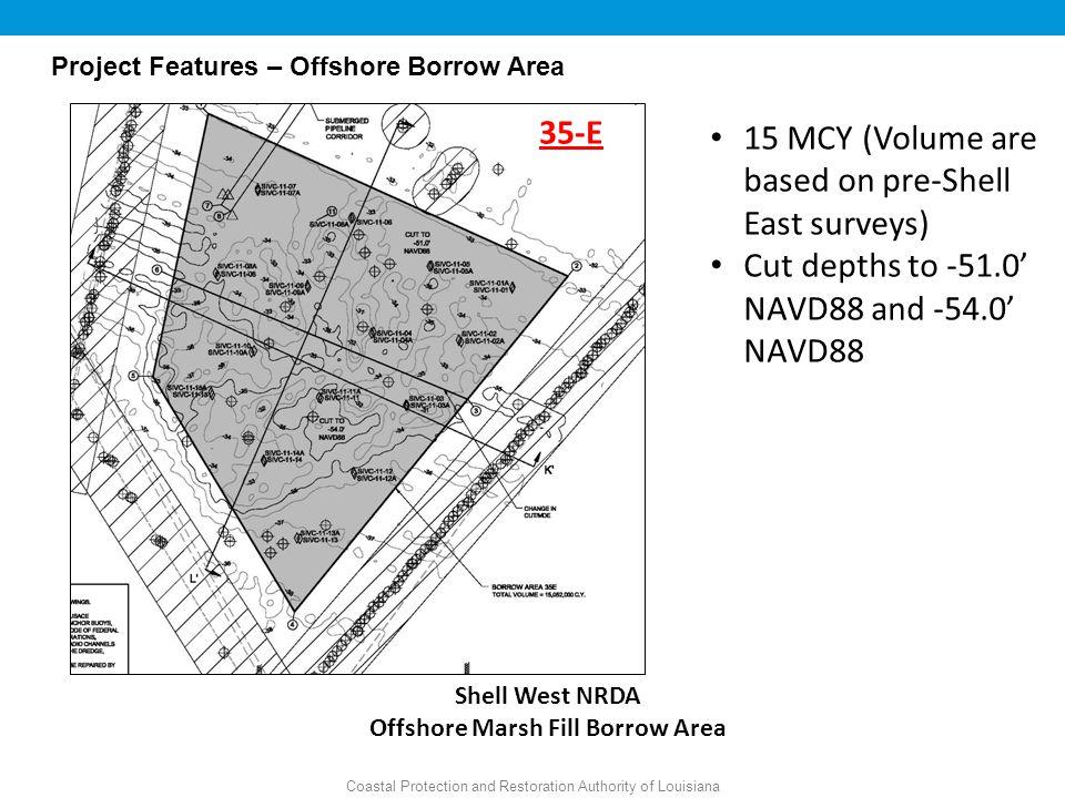 Offshore Marsh Fill Borrow Area