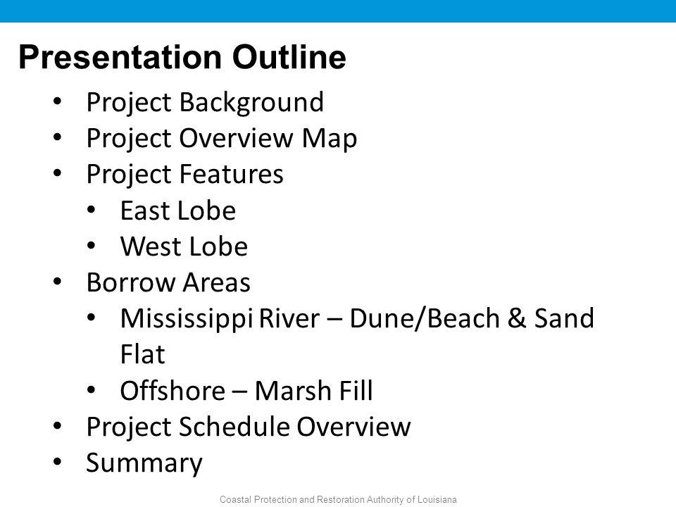 Coastal Protection and Restoration Authority of Louisiana