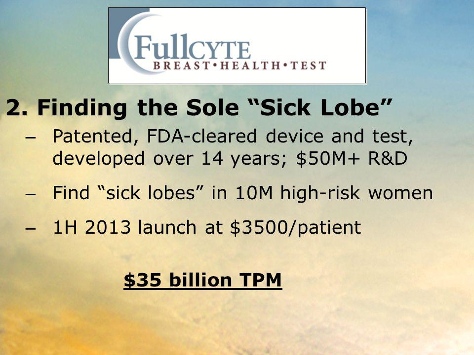 2. Finding the Sole Sick Lobe