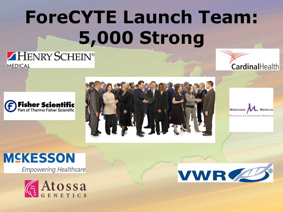 ForeCYTE Launch Team: 5,000 Strong