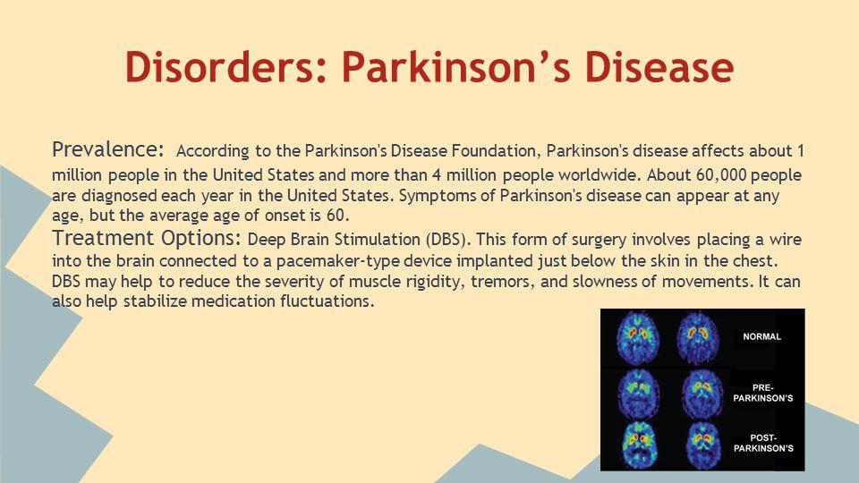 Disorders: Alzheimer's Disease