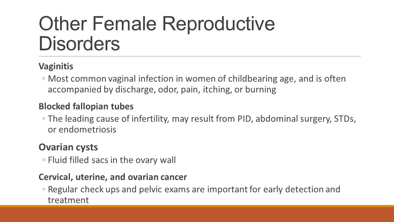 Other Female Reproductive Disorders
