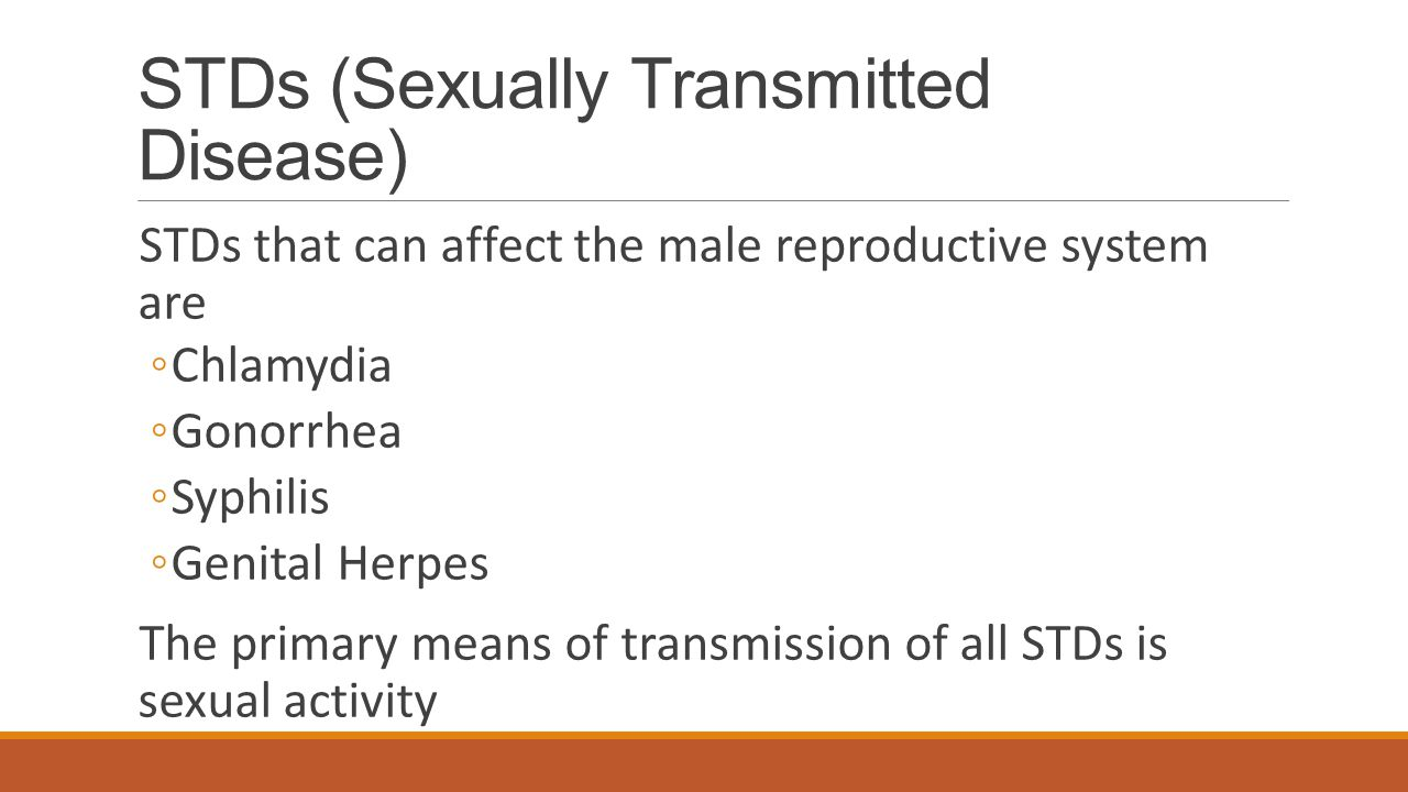 STDs (Sexually Transmitted Disease)