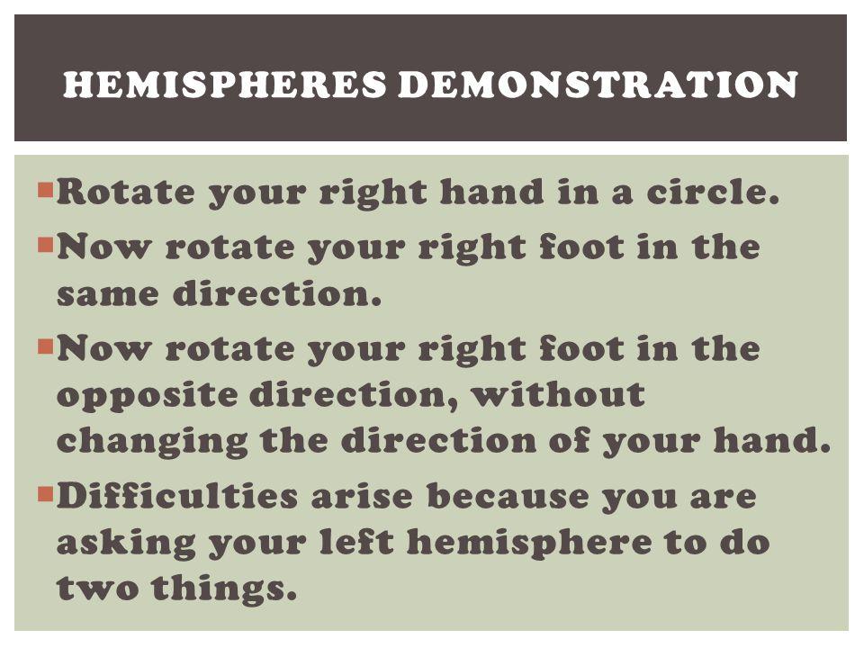 Hemispheres Demonstration