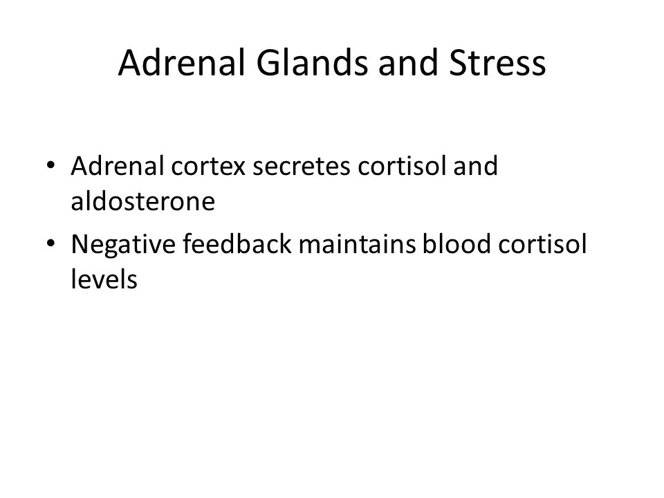 Adrenal Glands and Stress