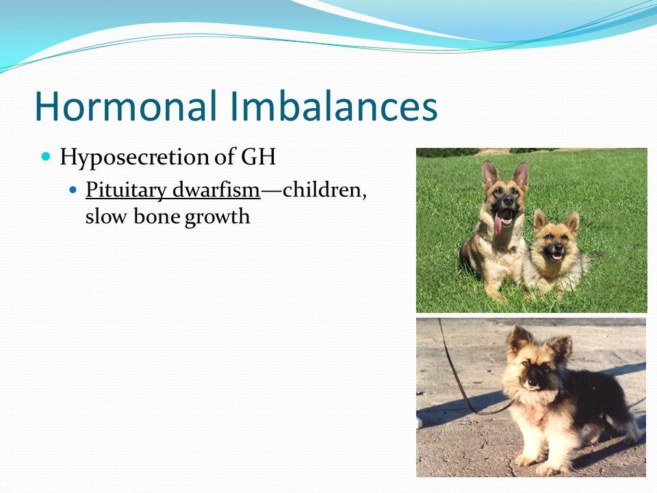 Hormonal Imbalances Hyposecretion of GH