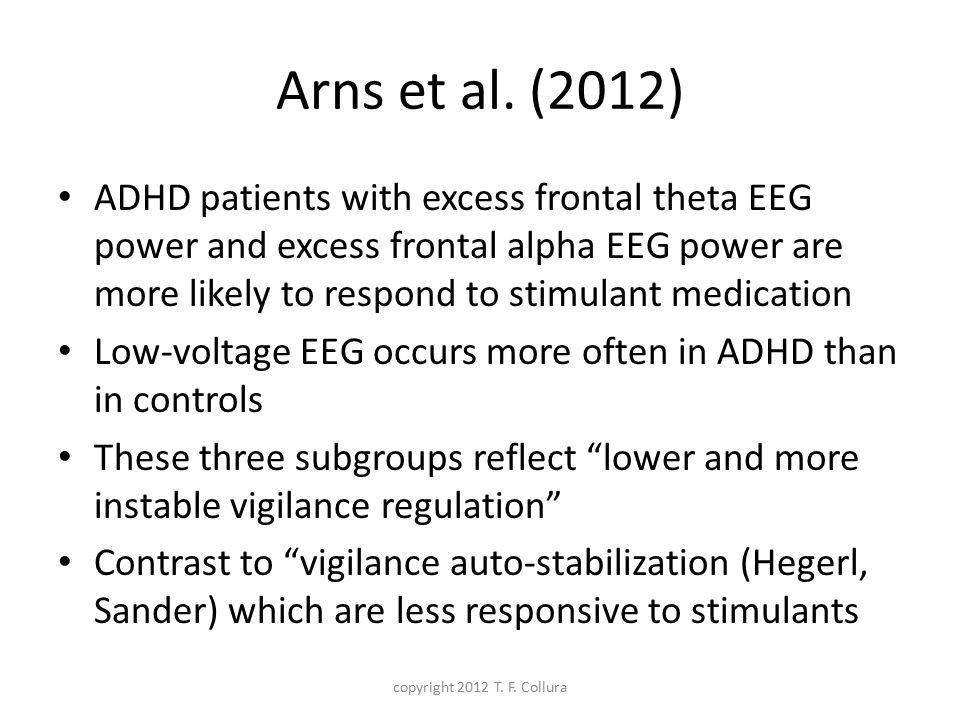 Arns et al. (2012)