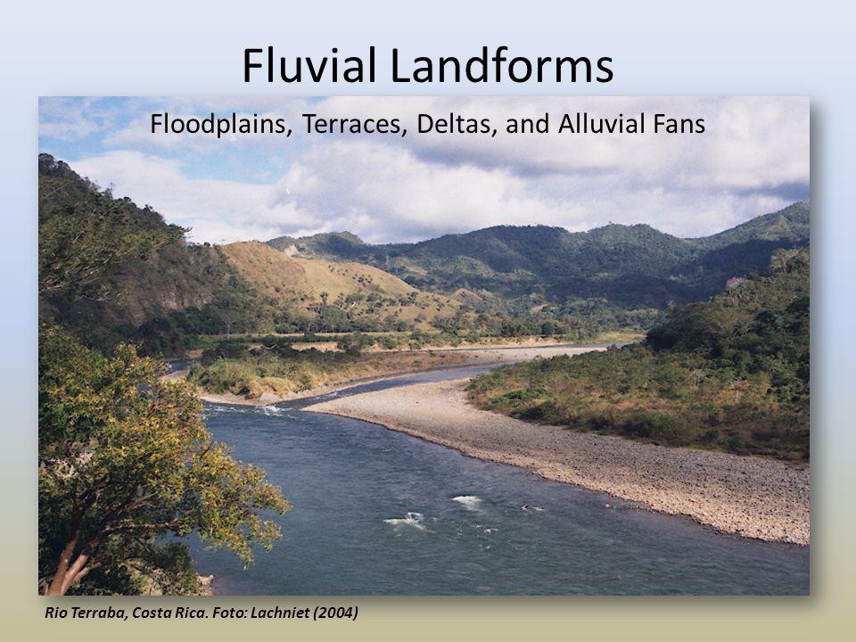 Floodplains, Terraces, Deltas, and Alluvial Fans
