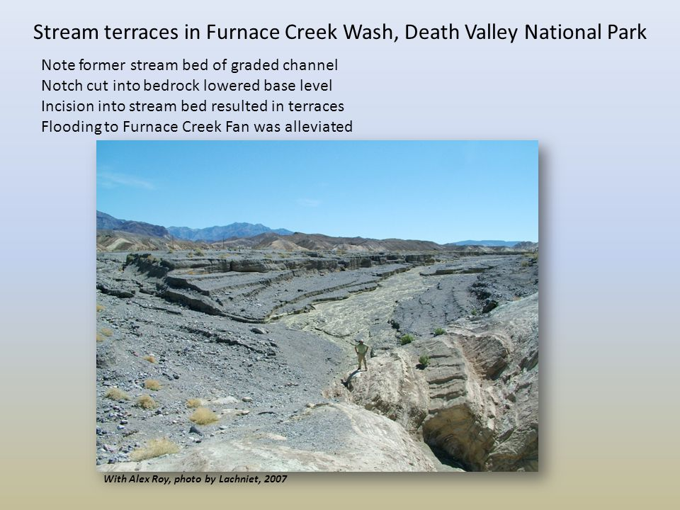 Floodplains terraces deltas and alluvial fans ppt for The meaning of terrace