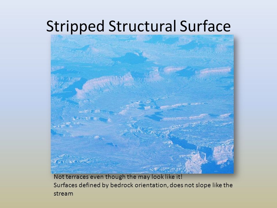 Stripped Structural Surface