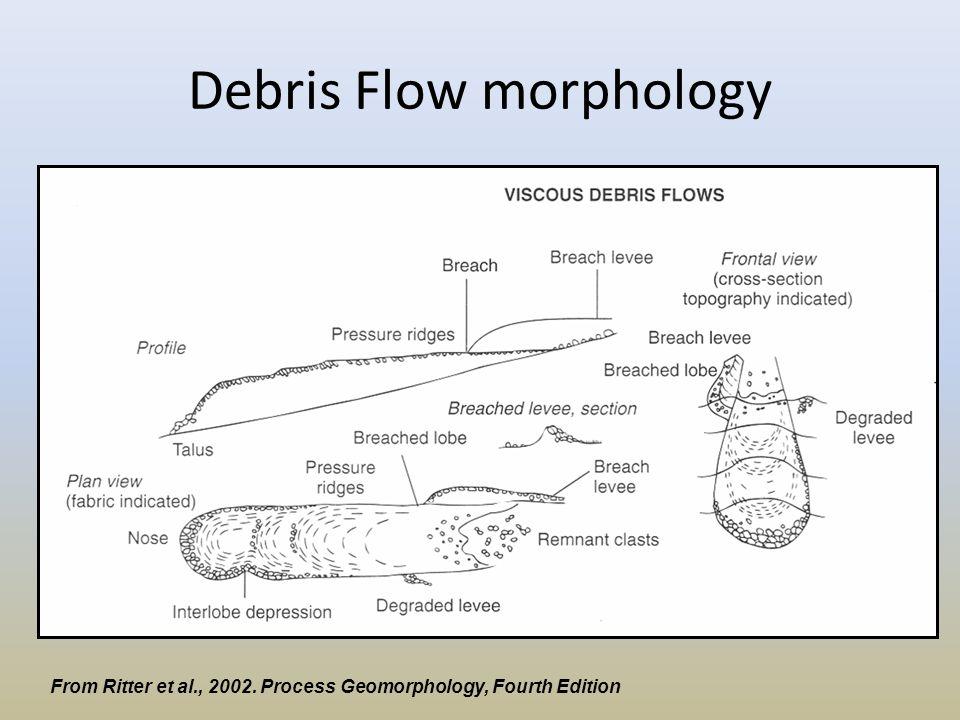 Debris Flow morphology