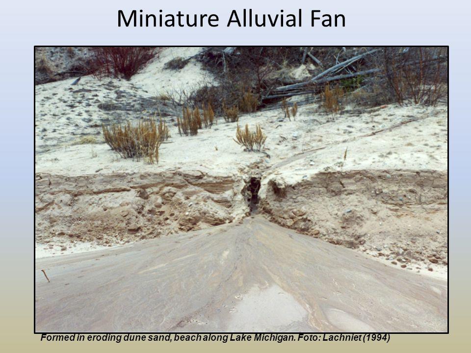 Miniature Alluvial Fan