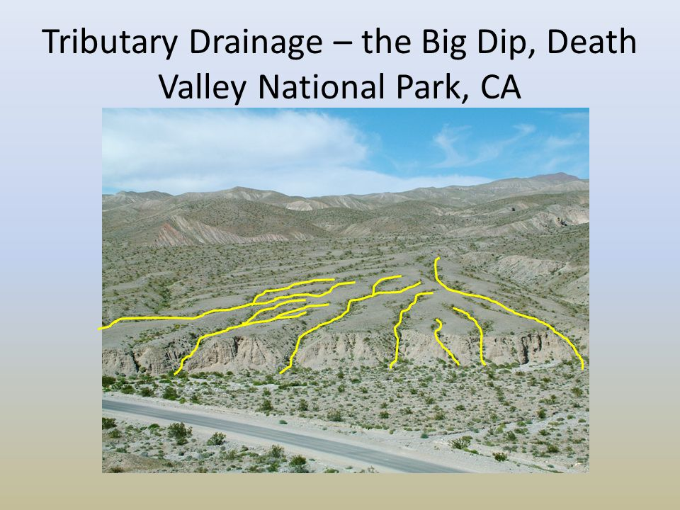 Tributary Drainage – the Big Dip, Death Valley National Park, CA