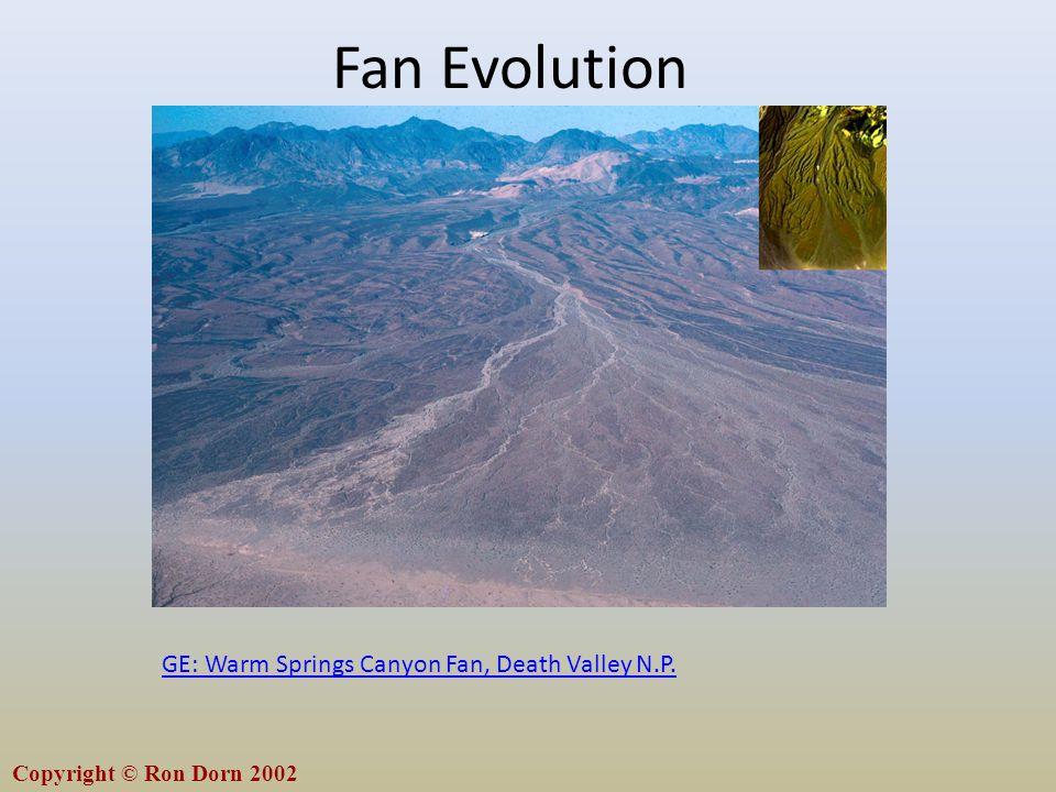 Fan Evolution GE: Warm Springs Canyon Fan, Death Valley N.P.