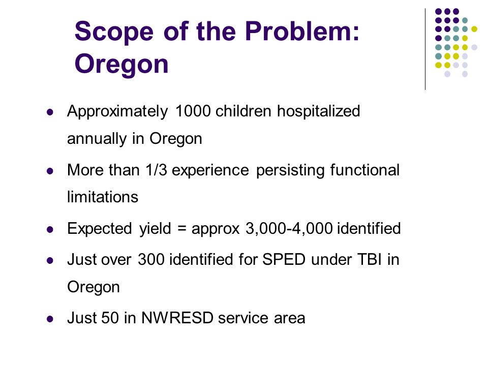 Scope of the Problem: Oregon