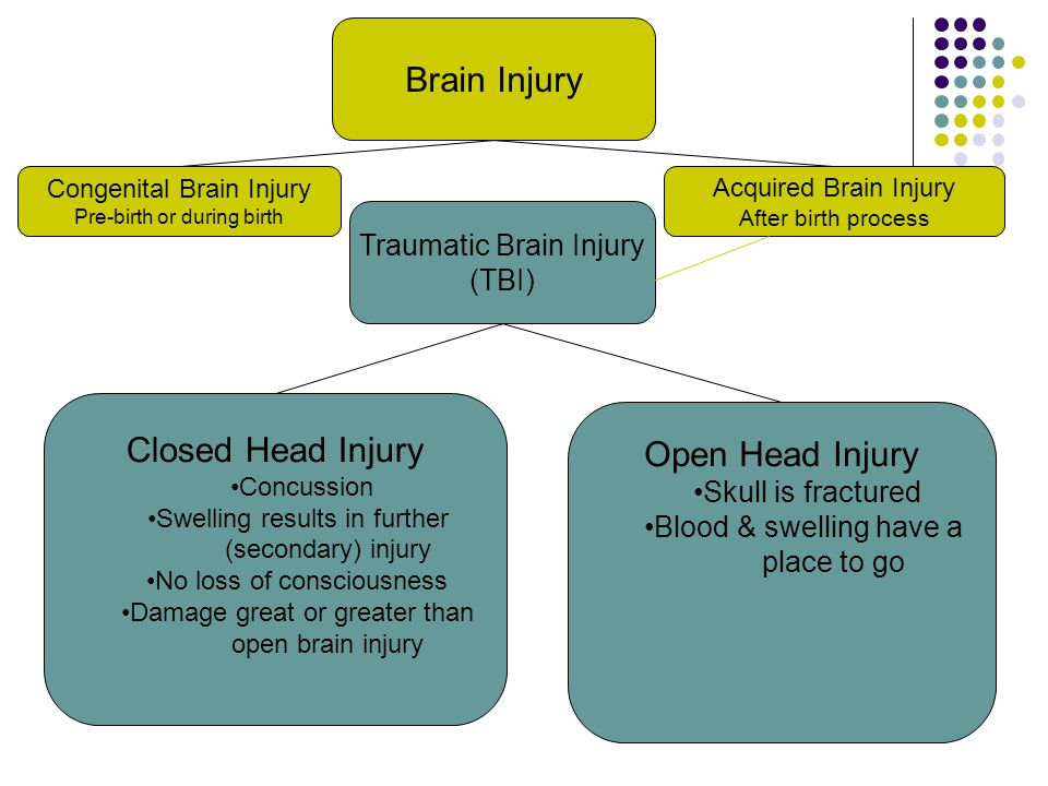 Brain Injury Closed Head Injury Open Head Injury