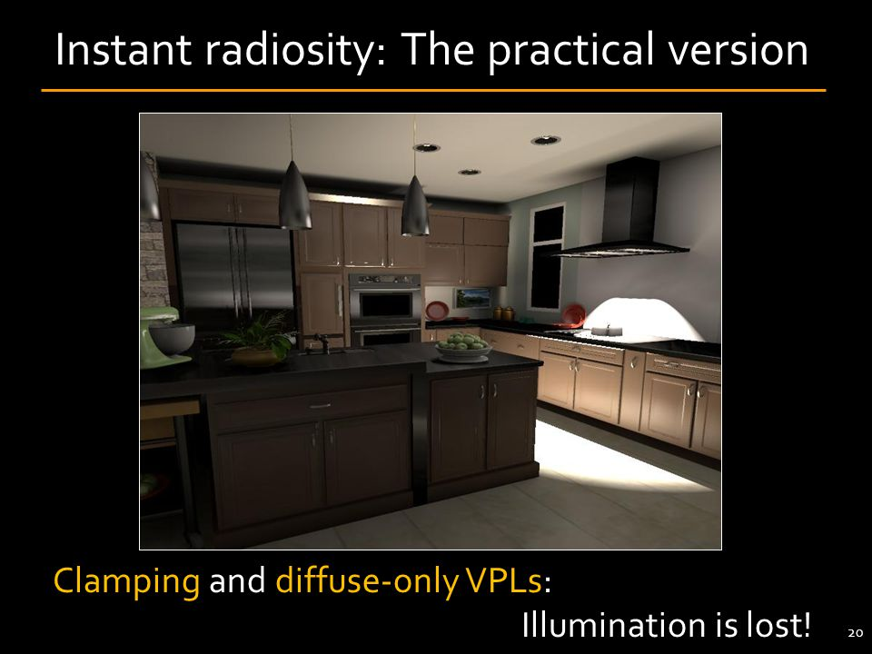 Instant radiosity: The practical version