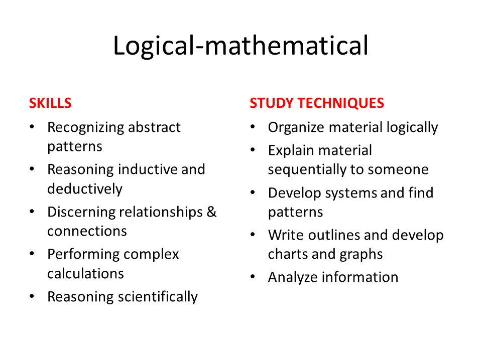 Logical-mathematical