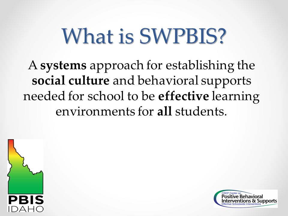 What is SWPBIS