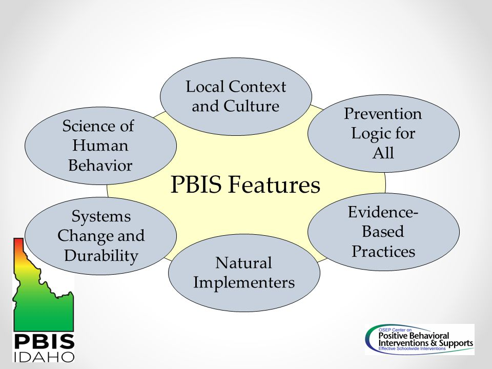 PBIS Features Local Context and Culture Prevention Logic for