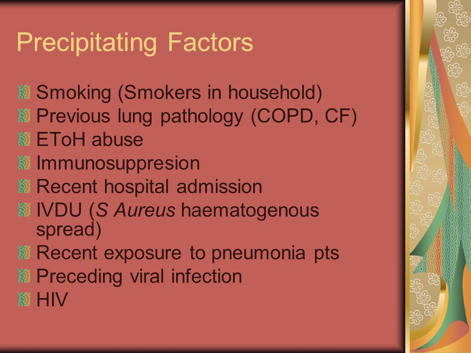 Precipitating Factors