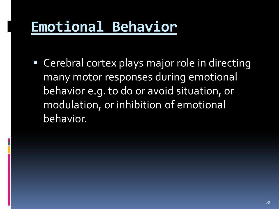 Emotional Behavior